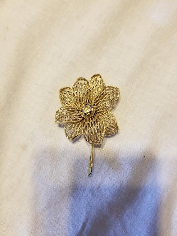 Monet brooch, monet pin, vintage monet brooch/pin