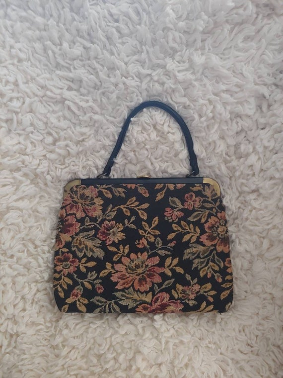 Vintage carpet/tapestry bag,  pocketbook, tapestry