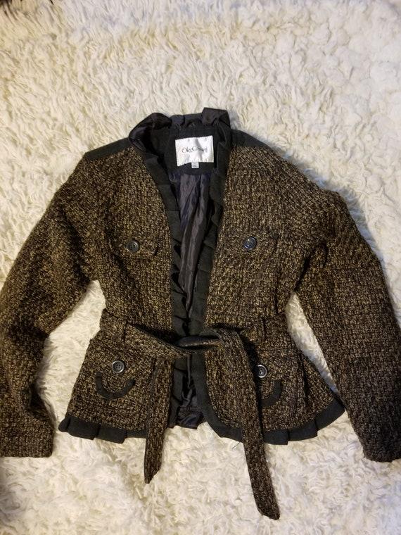 Vintage Oleg Cassini jacket, Oleg Cassini blazer.
