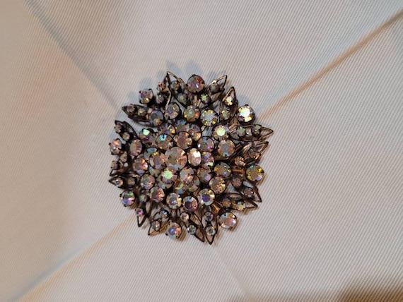 Gorgeous vintage rhinestone brooch, vintage brooch