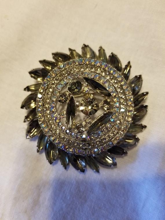 Vintage Art deco brooch, vintage brooch, vintage p