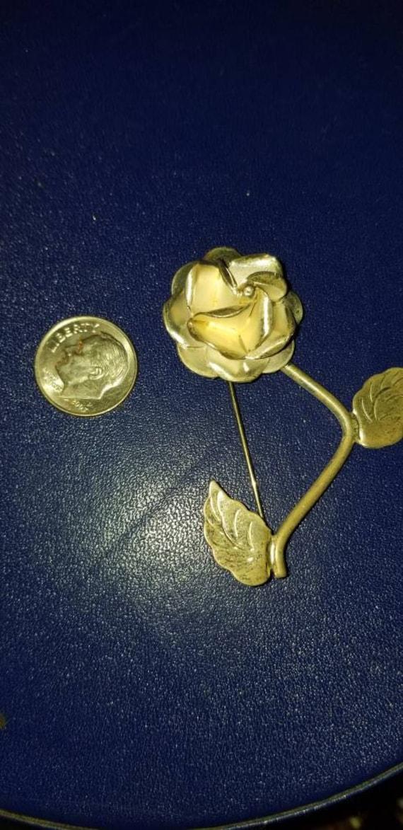 Sterling silver vintage brooch, vintage brooch, st