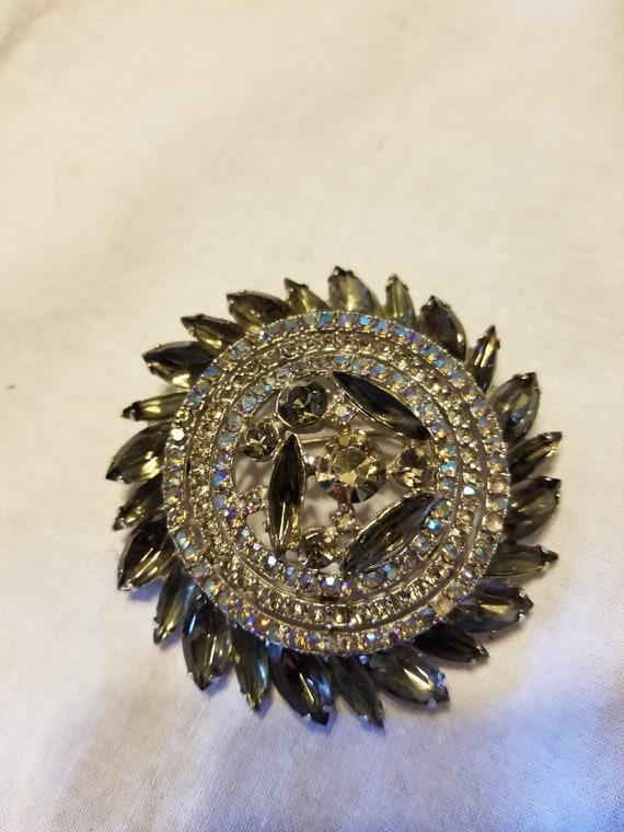Vintage Art deco brooch, vintage brooch, vintage … - image 2