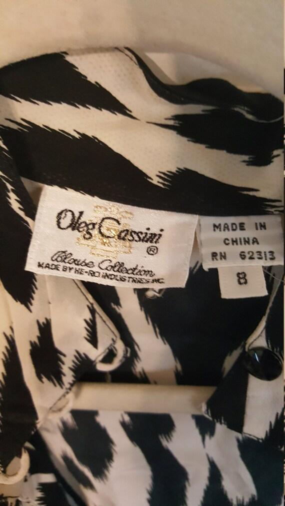 Vintage Oleg Cassini silk blouse,Oleg  Cassini sil