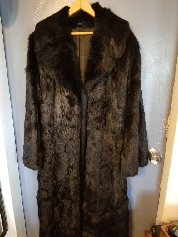 Vintage Mink coat, full length vintage  mink coat,