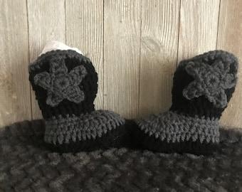 13d9a3e9b5dd1 Crochet Cowboy Boots