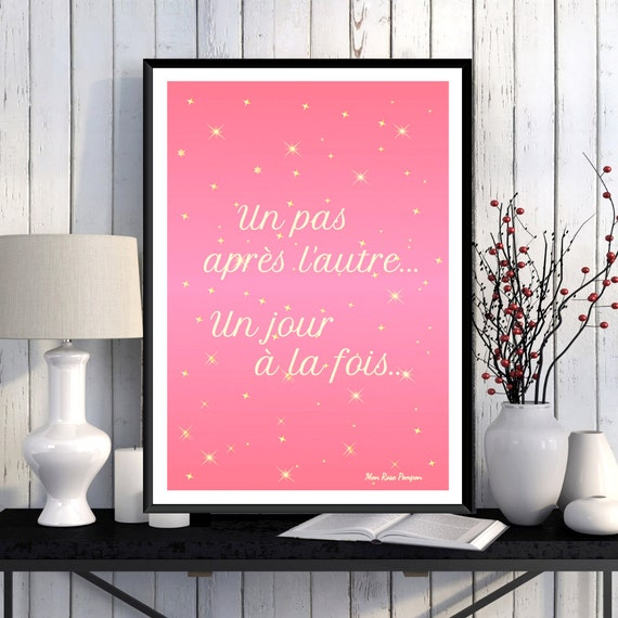 Illustration Motivational Quote Poster Inspirational Poster Wall Art Decor Positive Art Quote Print Typography Quote Poster Printable