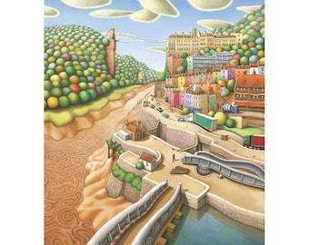 Bristol print - Hotwells, Bristol print - limited edition giclee print - Bristol art - Bristol print - Bristol Art