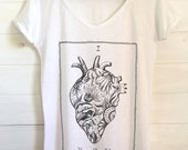 I Love You_ New Collection SS19_sacro cuore messaggio d'amore - Donna t-shirt