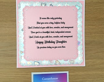 Birthday Card For Grown Up Daughter Precious Daughters Adult From Parents
