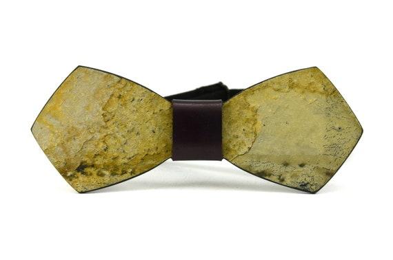 775a54922c73 Stone bow tie GorganyBow tie for men stoneStone   Etsy