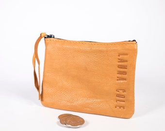 Laura Cole Deerskin Leather Coin Purse
