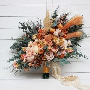 Fake Flower Bouquet Etsy