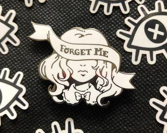 Forget Me Enamel Pin