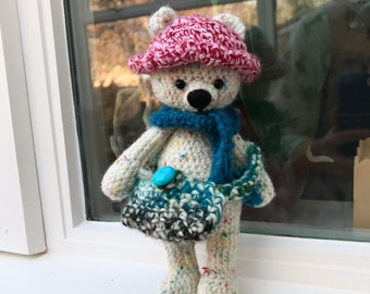 Crochet Teddy Bear Plush Toy