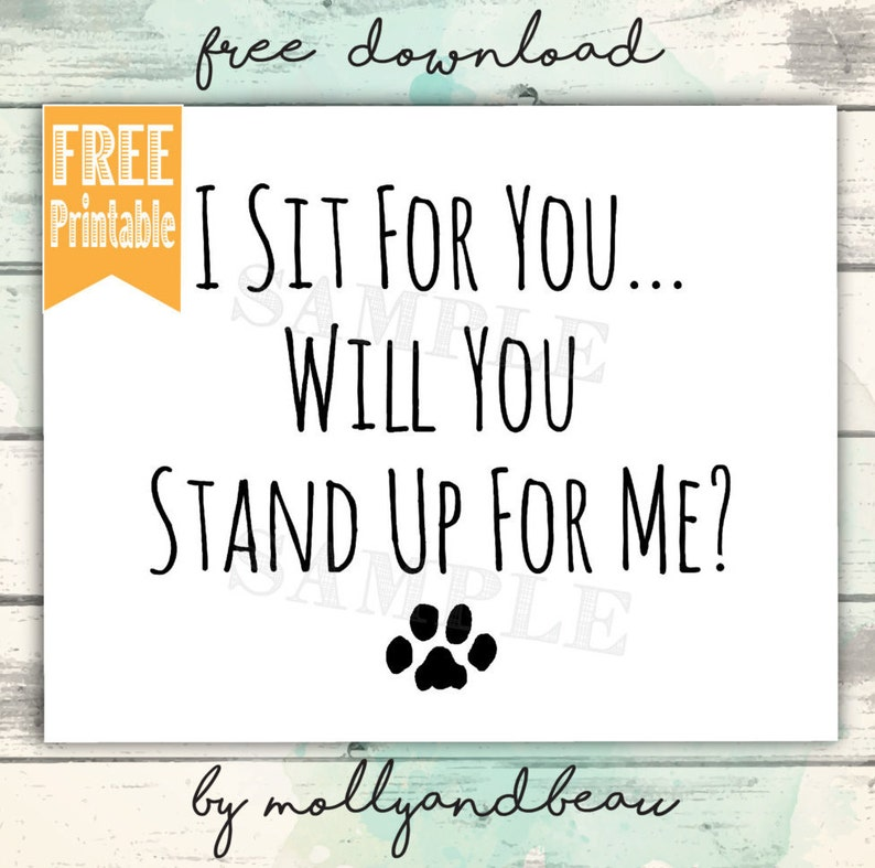 FREE Pitbull Printable, I Sit For You WIll You Stand Up for Me? Pitbull  Quote, Pitbull Mom, Don't Bully My Breed, Rescue Dog, Pitbull Rescue