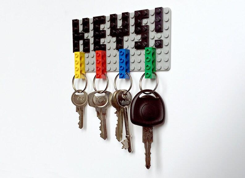 Lego Key Holder & Key Rings Set image 0