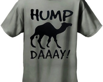 83f97ee1 Hump Day Camel Men's T- Shirt - #369