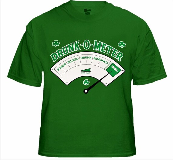 Drunk-O-Meter St Patrick/'s Day Buffalo Bills Tshirt