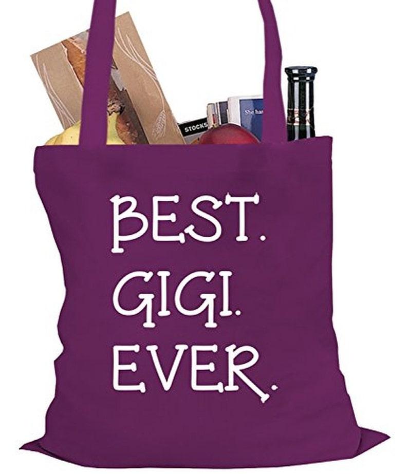 Grandma Tote Bag #3043 Gigi Best Ever