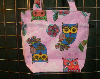 Girls Personalized Purse, Girls Monogram Purse, Girls Personalized Handbag, Girls Monogram Handbag, Owls Handbag, Owl Purse, Girl's Purse