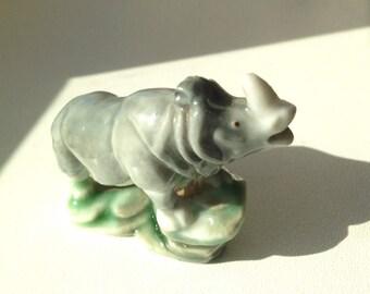 Wade Whimsie Rhinocerous - SET 4 - African Jungle Animals (1955-58)