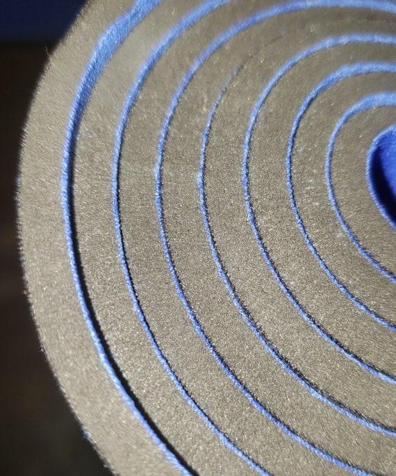 BIGZFABRIC® NEOPRENE BONDED SPONGE WATERPROOF WETSUIT FABRIC-BLACK 3mm-BY THE FT