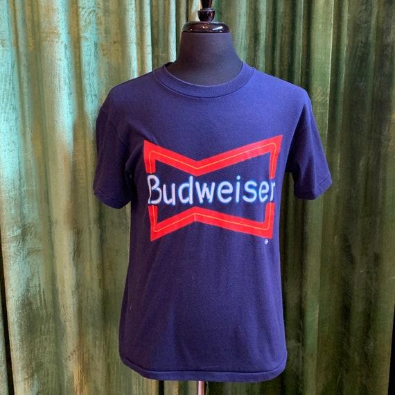 1980's BUDWEISER Neon Graphic Tee