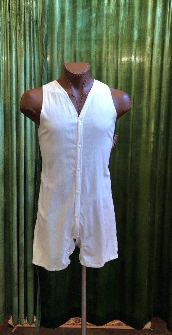 Late 1920s JC Penney Pajama/Underwear Onesie - image 2