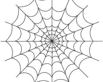 spider web pattern etsy