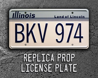 BKV 974 Celebrity Machines Blues Brothers 2000 Metal Stamped License Plate