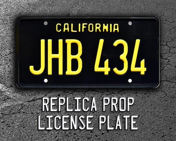 /'55 Chevy James Taylor Two Lane Blacktop JHB 434 Metal Stamped Vanity Prop License Plate