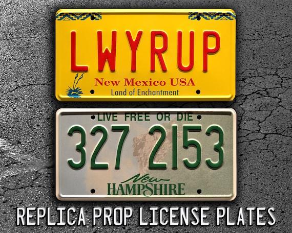 LWYRUP Breaking Bad Metal Stamped Vanity Prop License Plate Saul Goodmans 1997 Cadillac DeVille