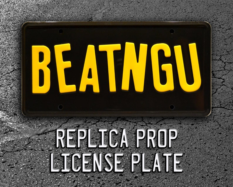 Jeepers Creepers | 1941 Chevy COE Creeper Truck | BEATNGU | Metal Stamped  Replica Prop License Plate