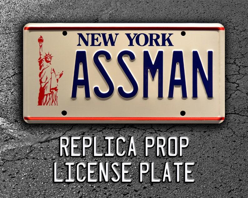 Seinfeld  Cosmo Kramer's Impala  ASSMAN  Metal Stamped image 1