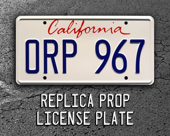 Celebrity Machines JFK Presidential Limo GG 300 Metal Stamped License Plate