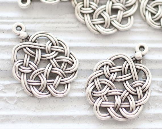 Flower of life pendant, zen charms, zen jewelry findings, filigree pendant, filigree charms, silver round filigree findings, tribal pendant