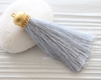 Silk Tassels/Feather/Pom