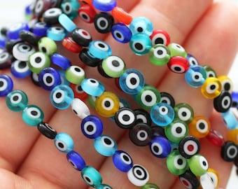 Evil Eye Beads and Charm