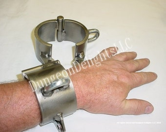 Mature Audience only: Steel Bondage shackles, Heavy duty