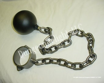 Mature Audience only:  Ball and chain