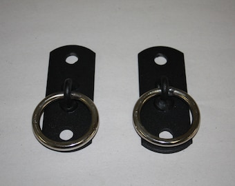 Mature Audience Only:  2 hole wall plates with ring, bondage play