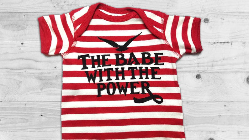 The Babe With The Power Labyrinth Movie Bodysuit for Babies image 0
