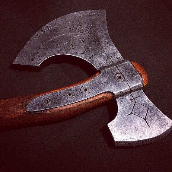 Kratos Axe From God Of War Inspired Wooden Replica