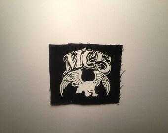 MC5 hand printed patch