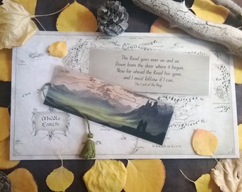 Lord of the Rings Bookmark - Homemade
