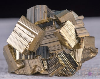 PYRITE Raw Crystal - Housewarming Gift, Home Decor, Raw Crystals and Stones, 39503