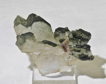 Chlorite QUARTZ Crystal Cluster - Raw Stone, Unique Gift, Healing Crystals and Stones 7254