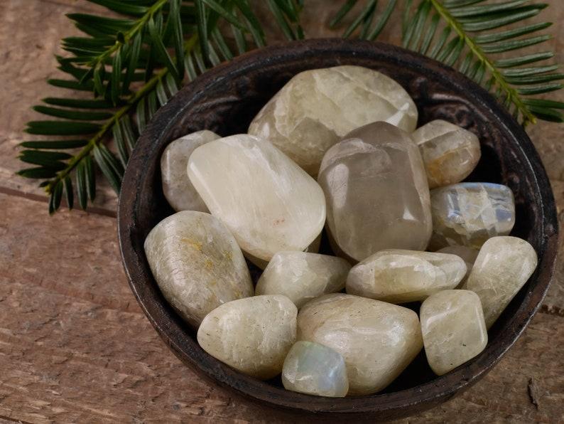Crystal Healing Gemstone Large Grade A Pouch Black Tourmaline Tumbled Stone