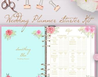 Printable Wedding Planner Book Planning Binder Printables List Letter Size Instant Download